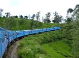 jazda vlakom, Srí lanka