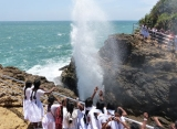 Gejzír na pobreží, Srí Lanka