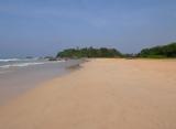 Avani Bentota resort - pláž