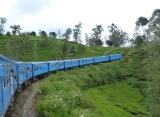 vlak Srí Lanka