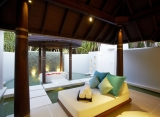 kúpelna plážová vila s bazénom
