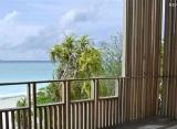 The Barefoot Eco hotel Maledivy - výhľad z izby