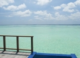Vodná vila - Conrad Rangali Maledivy