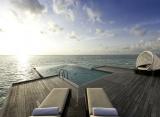 Vodná vila Sunset - Conrad Rangali Maledivy