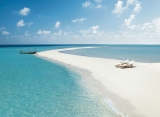 Four Seasons Landaa Giraavaru - pláž