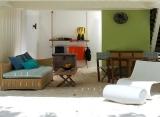 Holiday Inn Kandooma - plážový domček - prízemie