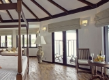 Kihaa - vodná vila interiér