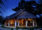 Kuramathi Island resort - Restaurace Haruge