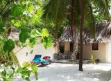 Kuredu Island resort - Plážový/zahradný bungalov