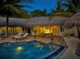 Maafushivaru - plážové vily s bazénom