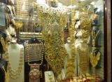 Zlaté šperky - trh Dubaj