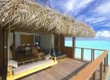 Medhufushi Island resort - plážová suita