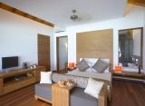 Medhufushi Island resort - vodná vila - interiér