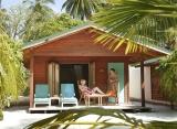 Plážová vila s jaccuzi Meeru Island Resort