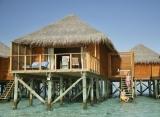 Vodná vila s jacuzzi Meeru Island Resort