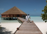 Meeru Island Resort - reštaurácia