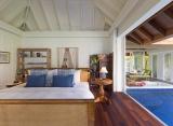 Naladhu - Ocean vila s bazénom interiér