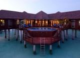 Olhuveli Beach resort - prezidentský apartmán