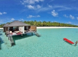 Paradise Island resort - Vodné bungalovy