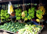 ovocný trh, Srí Lanka
