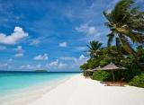 Pláž Reethi Beach Resort