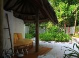 Crusoe vila, vonkajšia sprcha