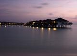 Sun Island resort - Vodní bungalov