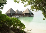 vodné vily Velidhu Island Resort