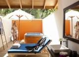 Vilamendhoo Island resort - plážová vila s jacuzzi