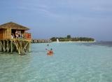 Vilamendhoo Island resort - vodná vila s jacuzzi