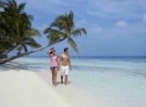 Vilamendhoo Island resort - pláž