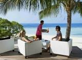 Vilamendhoo Island resort - Sunset bar