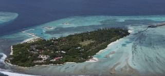 Letecký pohľad Adaaran Select Hudhuranfushi