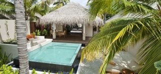 Ayada Maldives - plážová vila