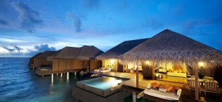 Ayada Maldives - vodná vila Sunset Ocean