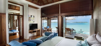Vodná vila Retreat - Conrad Rangali Maledivy