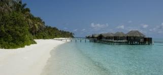 Vodná vila superior - Conrad Rangali Maledivy