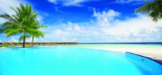 Bazén Filitheyo Island Resort