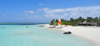 Pláž Fun Island Resort