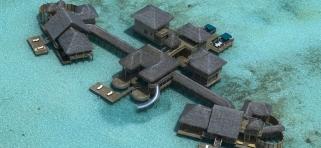 Gili Lankafushi - súkromná rezidencia