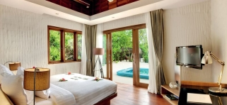 Plážová rezidencia - Hideaway beach Maledivy