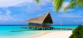 Pláž Kuramathi Island Resort