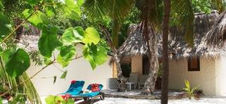 Plážový/zahradný bungalov