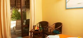 Izba v plážovom/zahradnom bungalove
