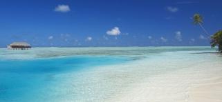 Medhufushi Island resort - novomanželská vila