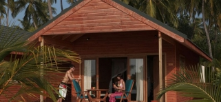 Plážová vila Meeru Island Resort