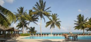Meeru Island resort bazén