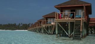 Vodné vily Meeru Island Resort