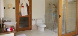 Kúpelna vodné vily s jacuzzi