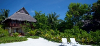 Olhuveli Beach resort - deluxe izba